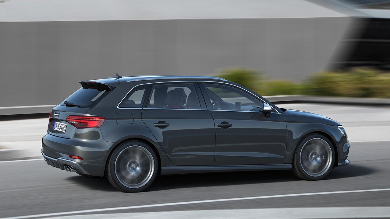 Audi S3 Sportback (2019) - Seitenansicht