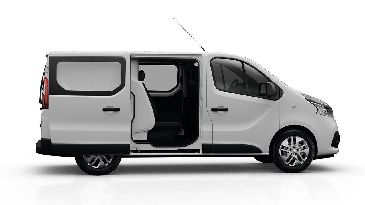 Renault Trafic Combi - Seitenansicht