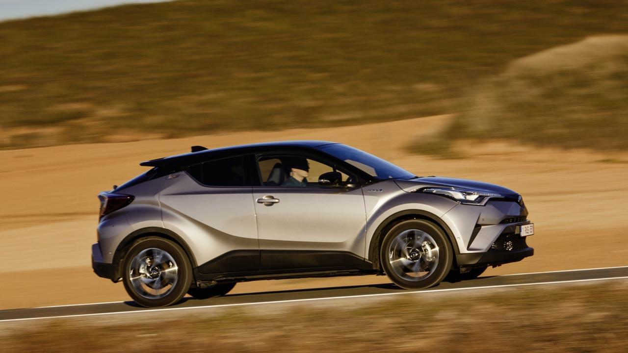 Toyota C-HR - Seitenansicht