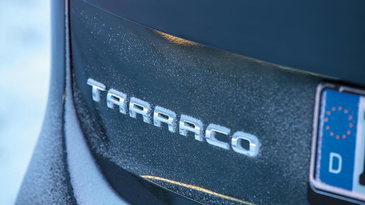Seat Tarraco - Schriftzug