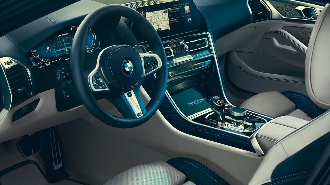 BMW M850i xDrive Coupé First Edition - Cockpit