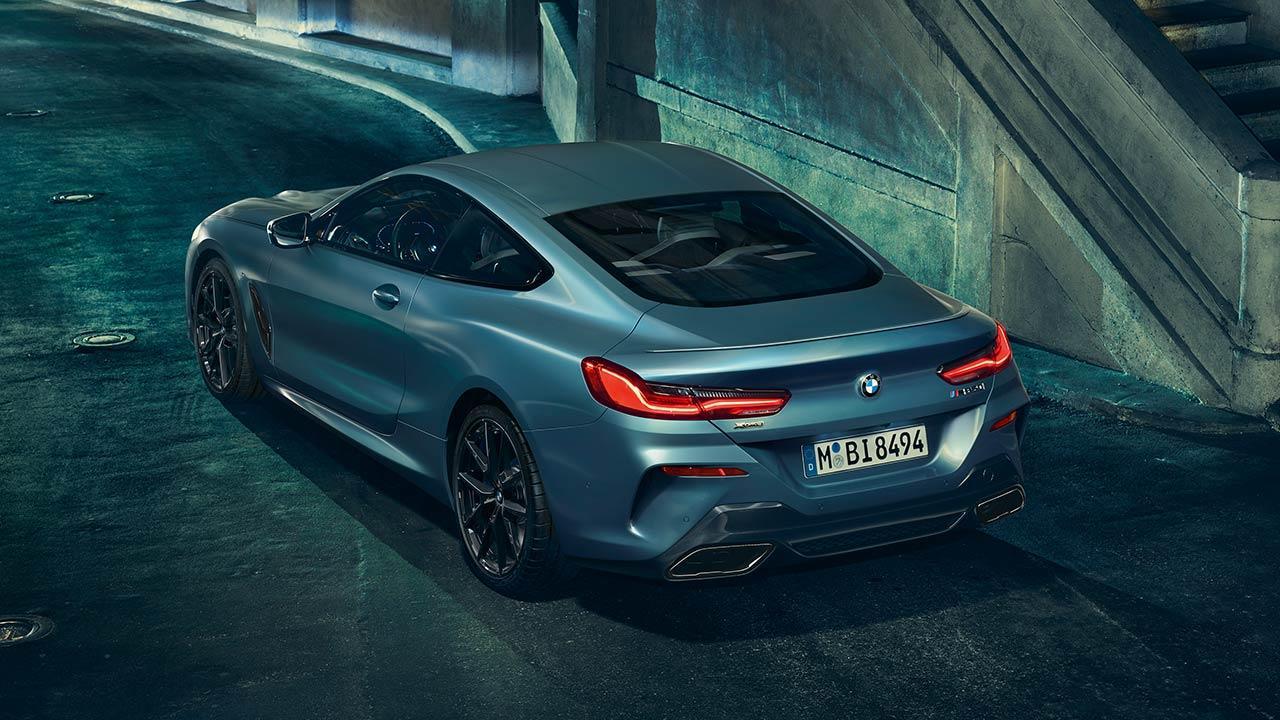 BMW M850i xDrive Coupé First Edition - Heckansicht