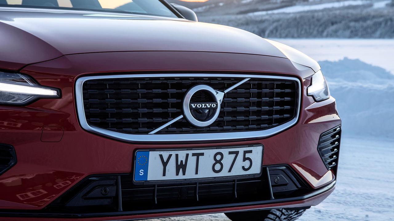 Volvo V60 - Kühlergrill