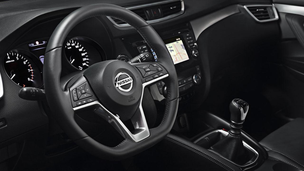Nissan Qashqai - Cockpit