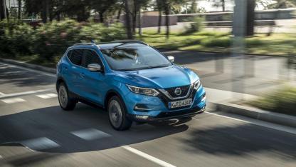 Nissan Qashqai - in voller Fahrt