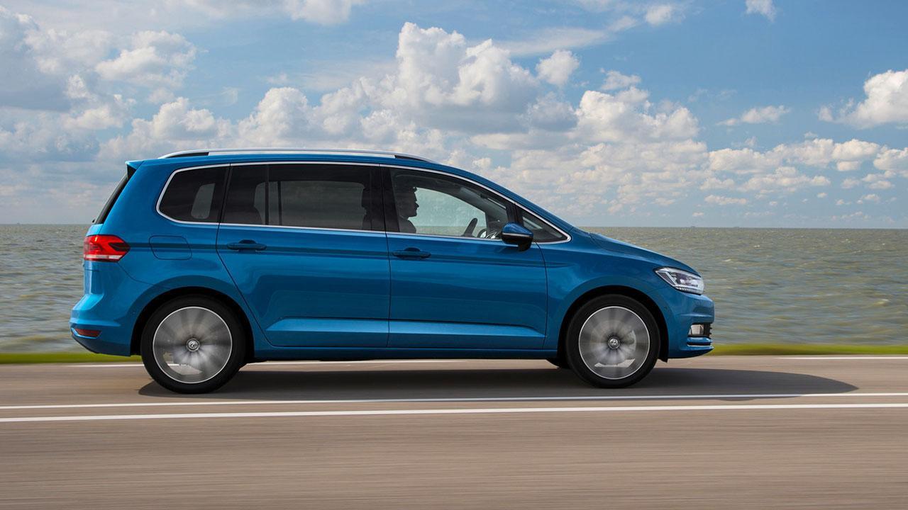 Volkswagen Touran - Seitenansicht