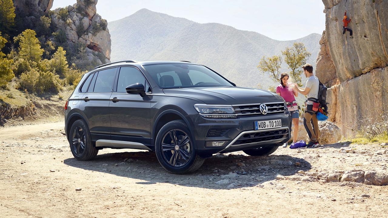 Volkswagen Tiguan - in den Bergen