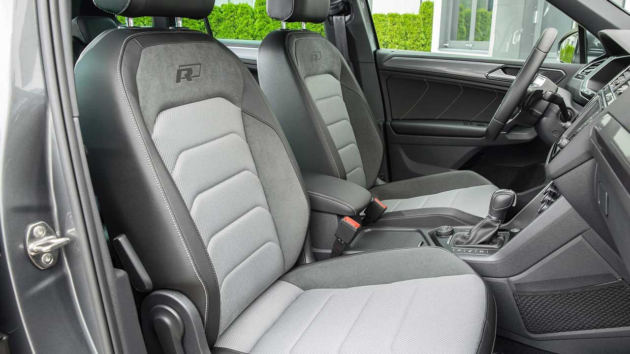 Volkswagen Tiguan -  Vordersitze