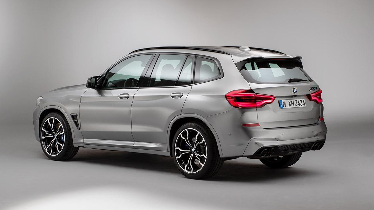 BMW X3 M (2019) - Heckansicht