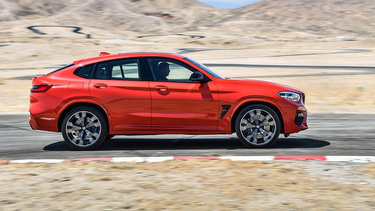 BMW X4 M - Seitenansicht