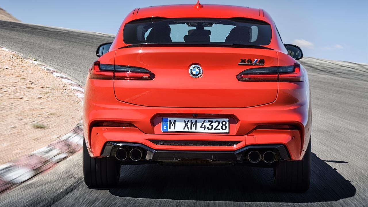 BMW X4 M - Heckansicht