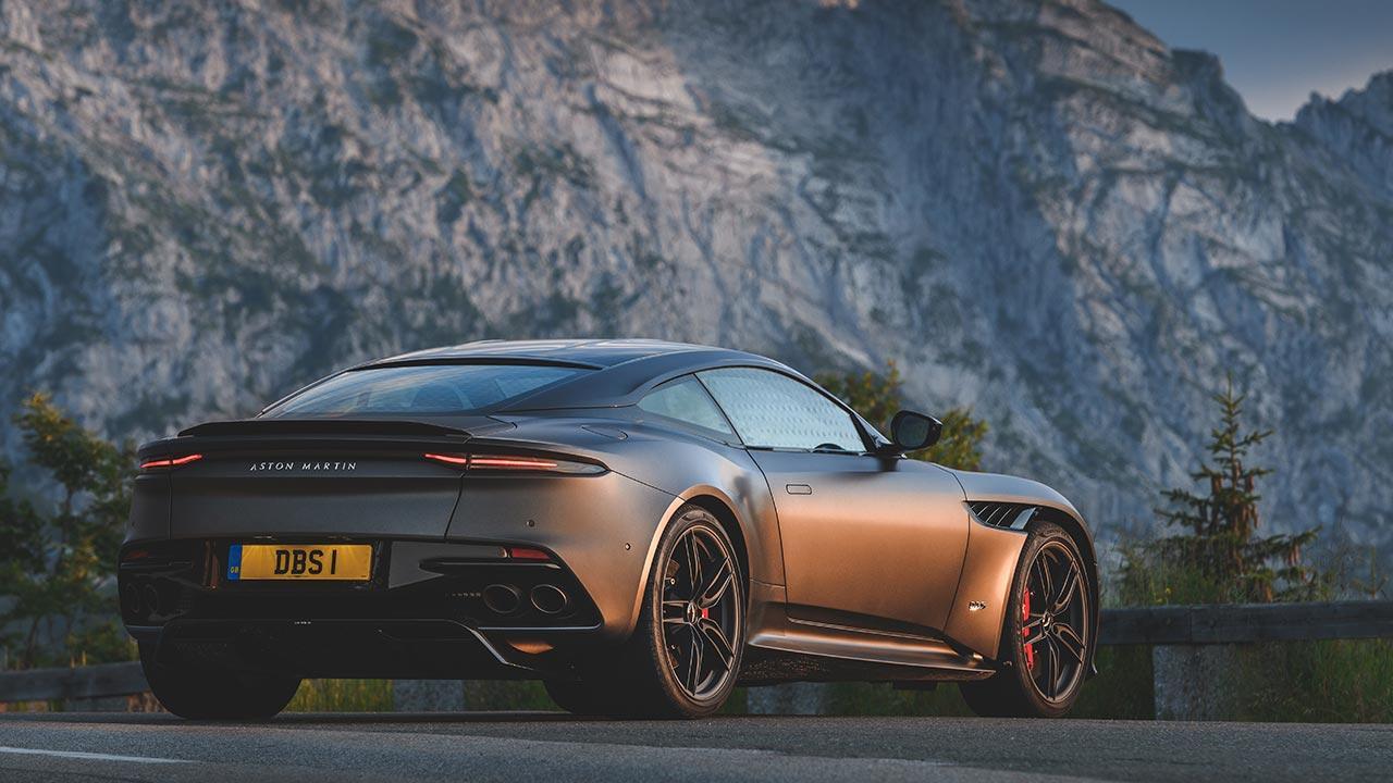 Aston Martin DBS Superleggera - Heckansicht