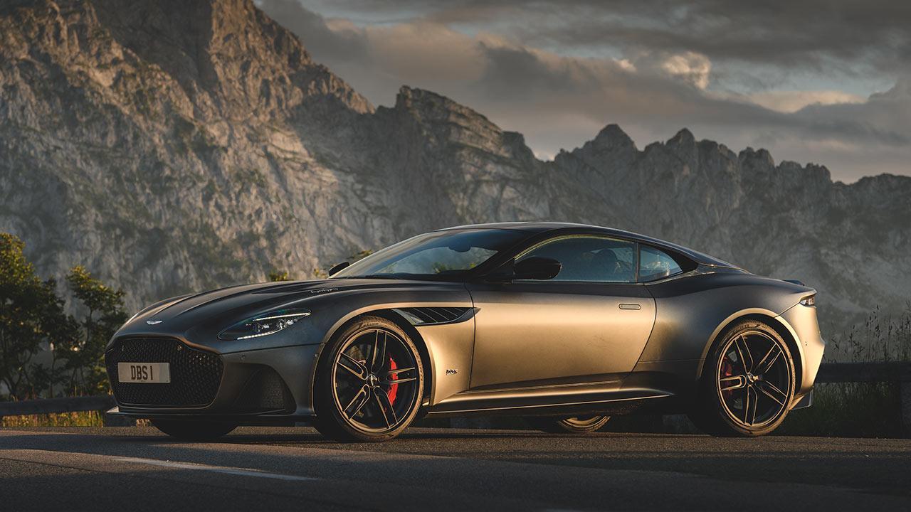 Aston Martin DBS Superleggera - Seitenansicht