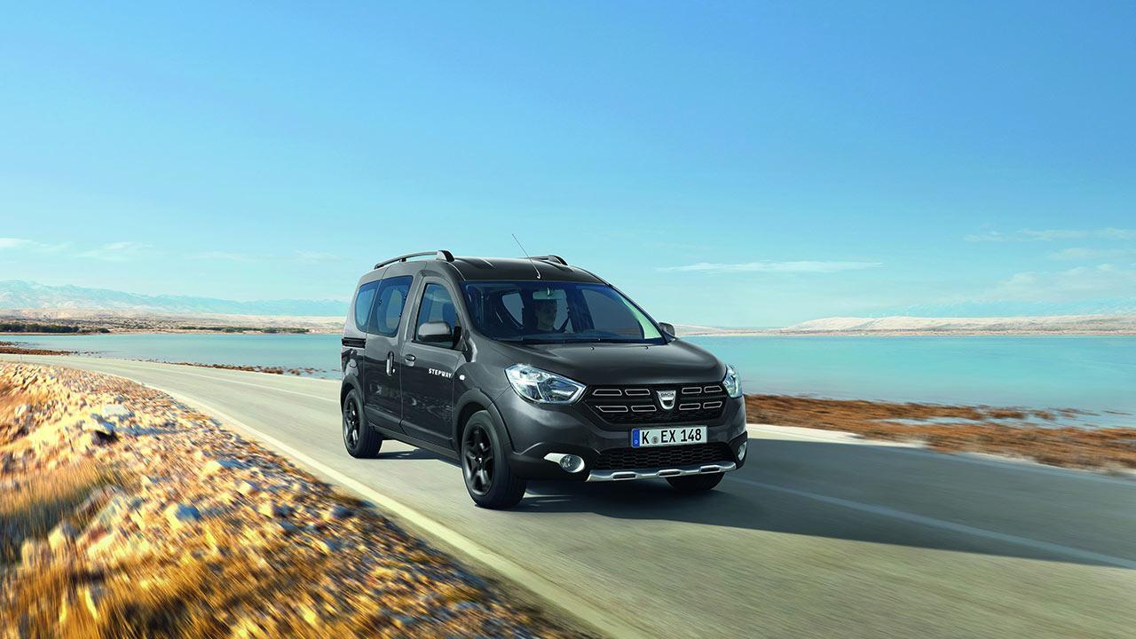 Dacia Dokker - in voller Fahrt