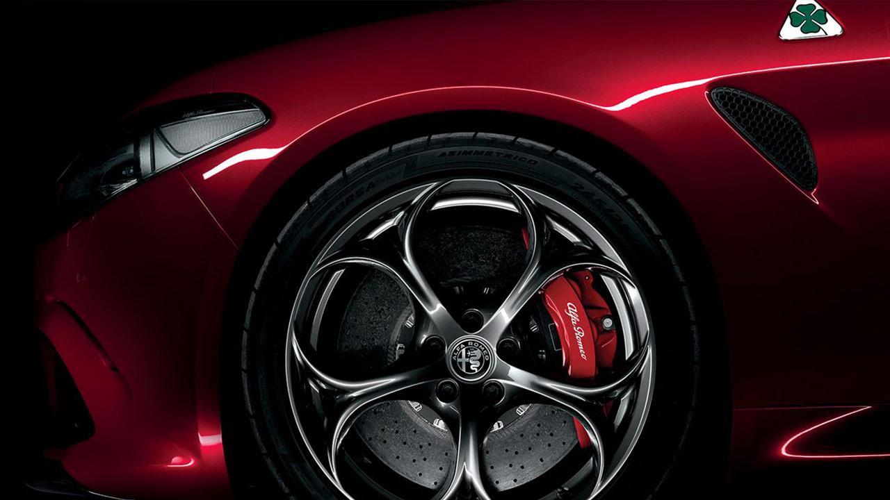 Alfa Romeo Giulia Quadrifoglio - Vorderreifen