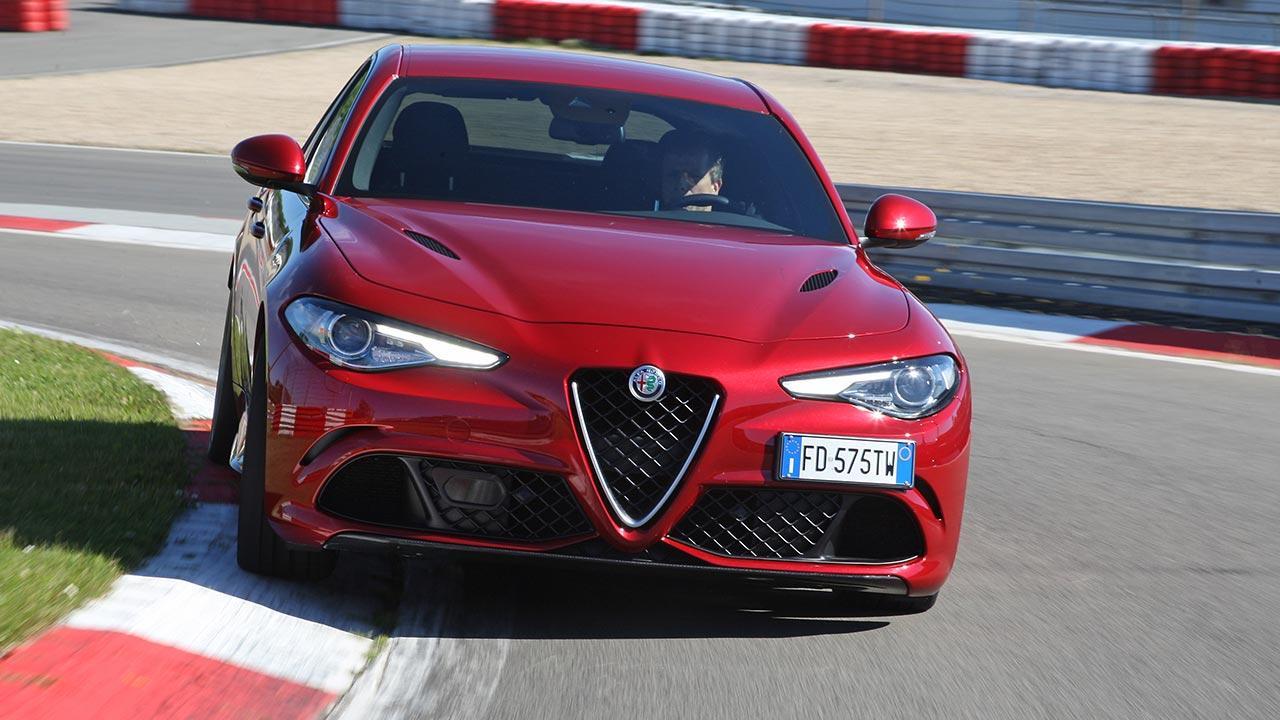 Alfa Romeo Giulia Quadrifoglio - Frontansicht