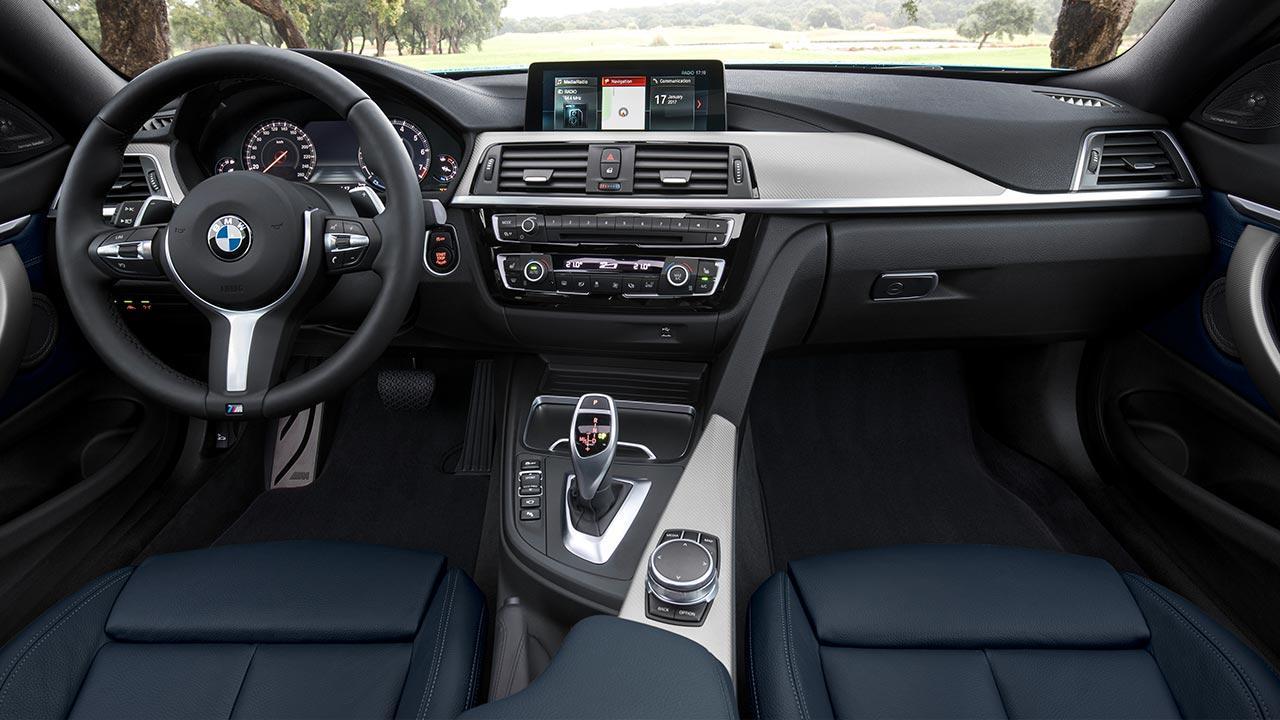 BMW 4er 2017 -  Cockpit