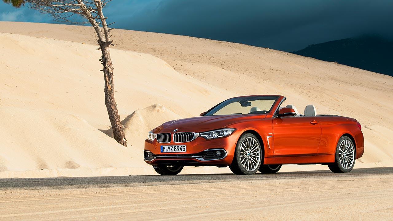 BMW 4er 2017 - Cabrio in der Wüste