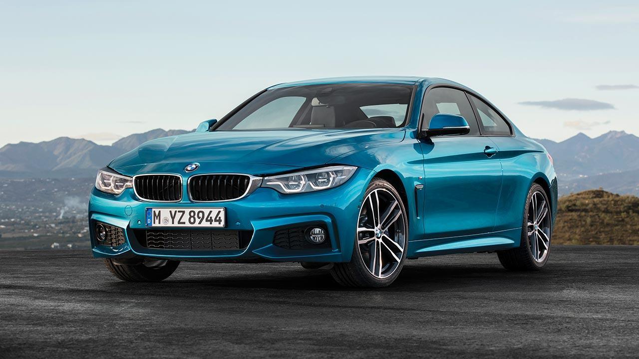 BMW 4er 2017 - Coupé Frontansicht