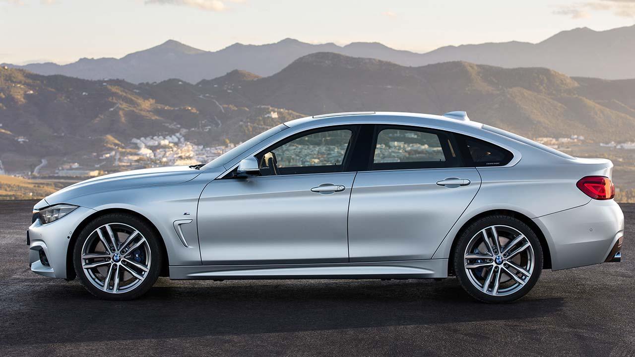 BMW 4er 2017 - M Sport Seitenansicht