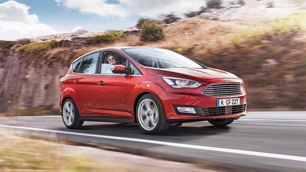 Ford C-Max - in voller Fahrt