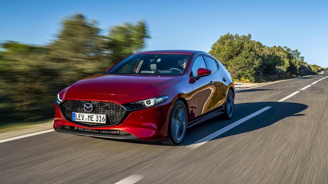 Mazda3 - in voller Fahrt