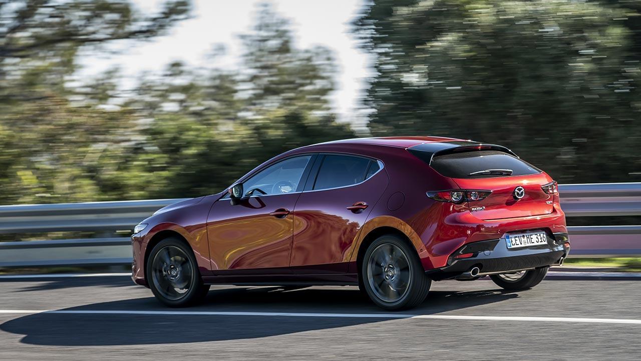Mazda3 - Seitenansicht