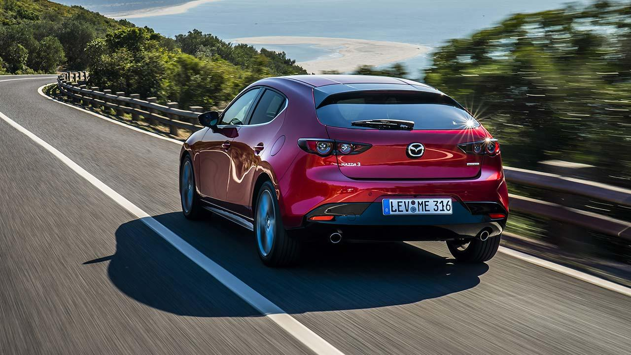 Mazda3 - Heckansicht