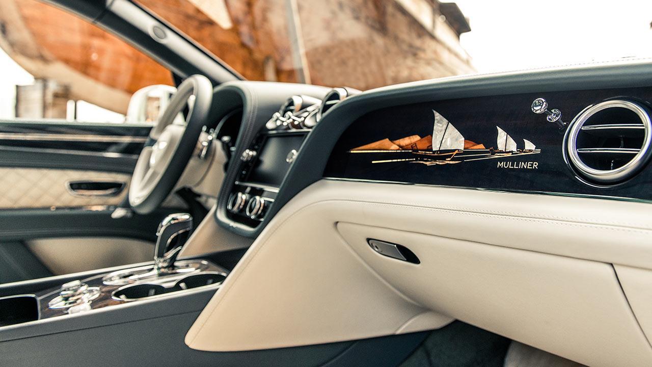 Bentley Bentayga - Lenkrad