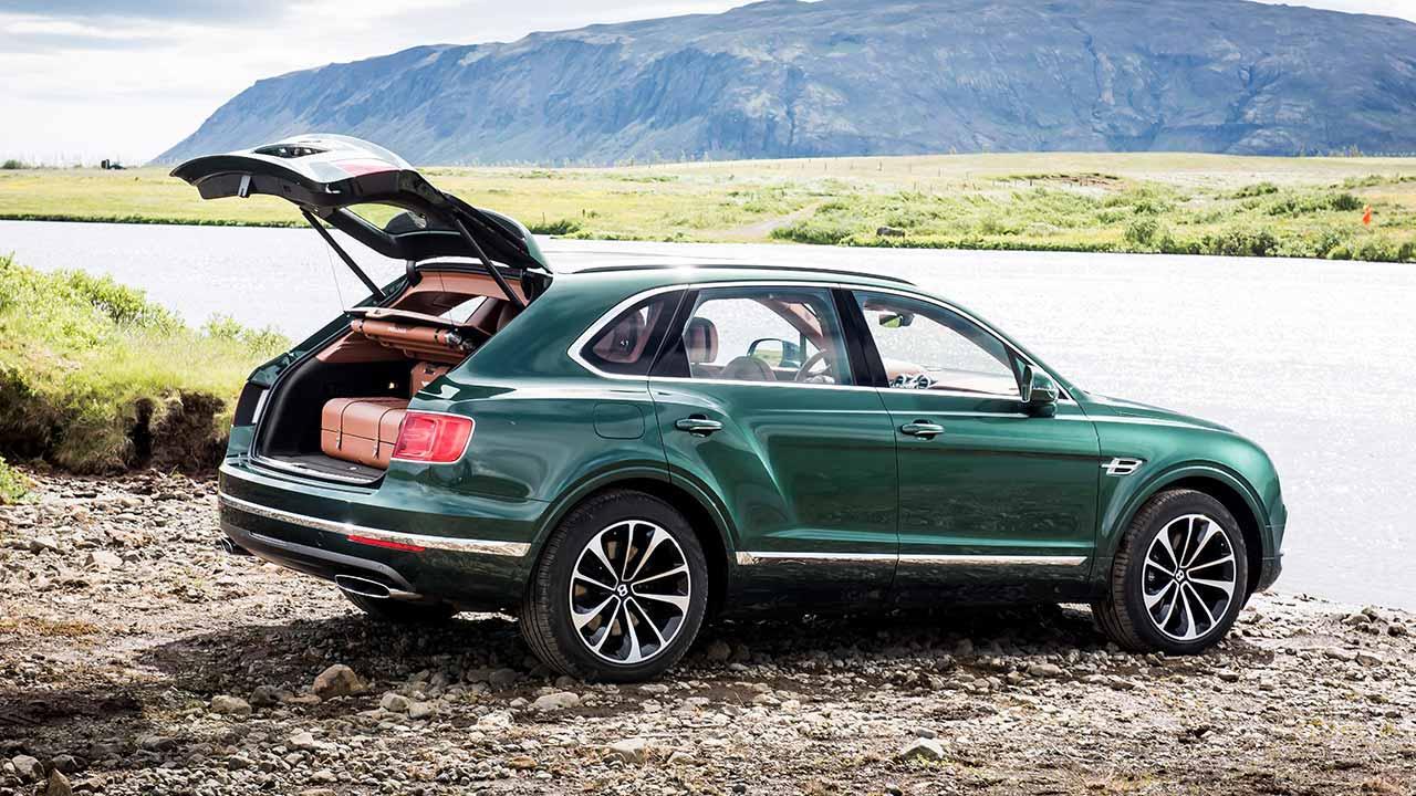 Bentley Bentayga - Seitenansicht