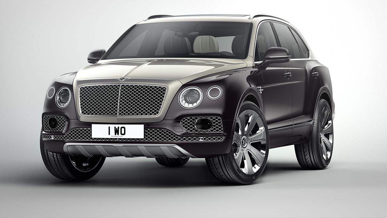 Bentley Bentayga Mulliner - Frontansicht