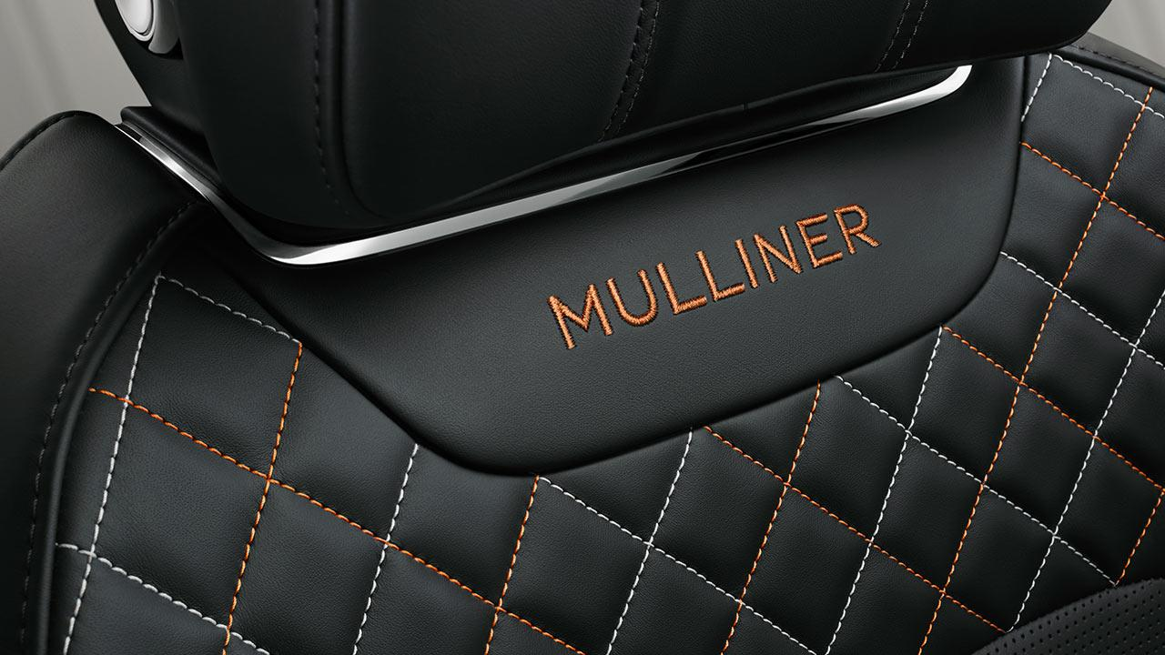 Bentley Bentayga Mulliner - Lederssitz