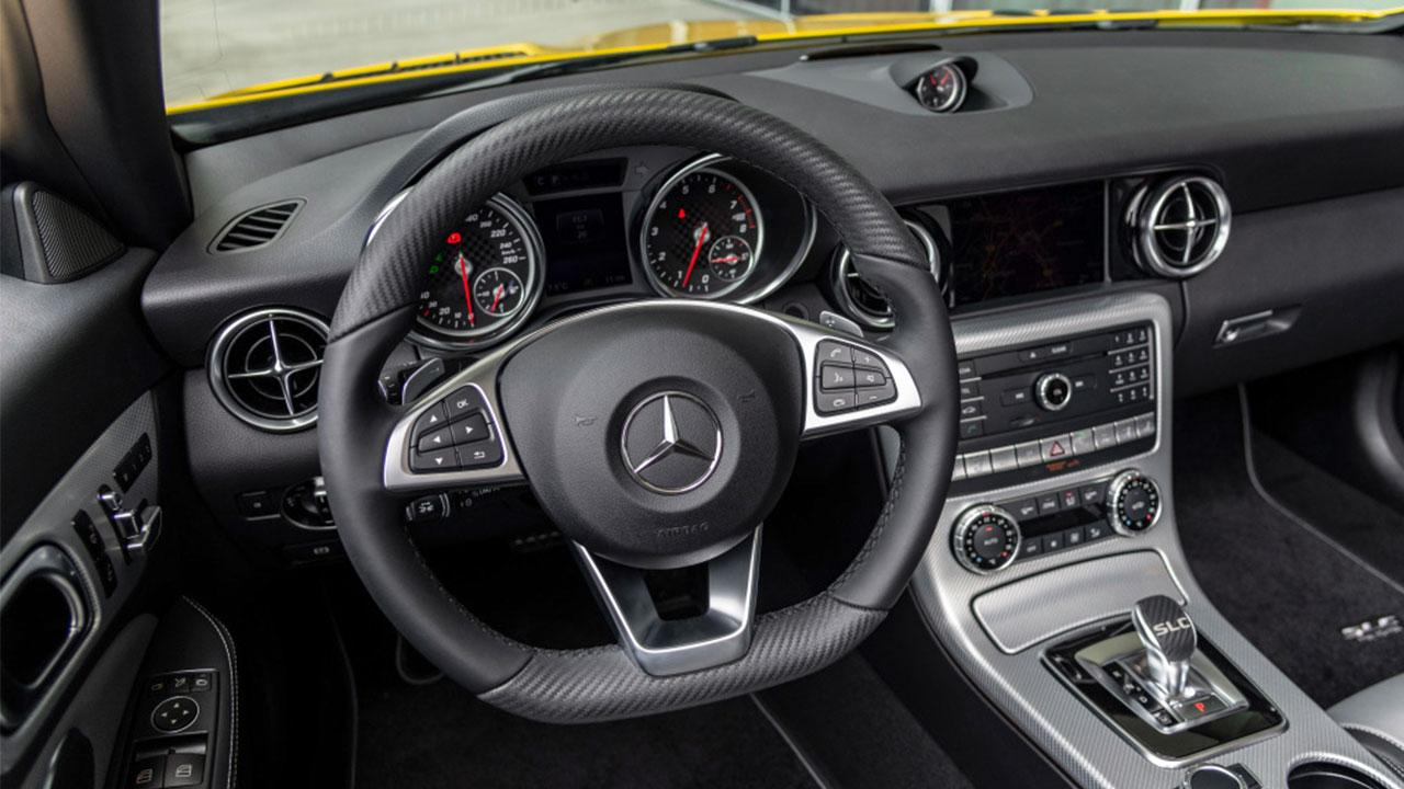 Mercedes SLC Final Edition - Cockpit