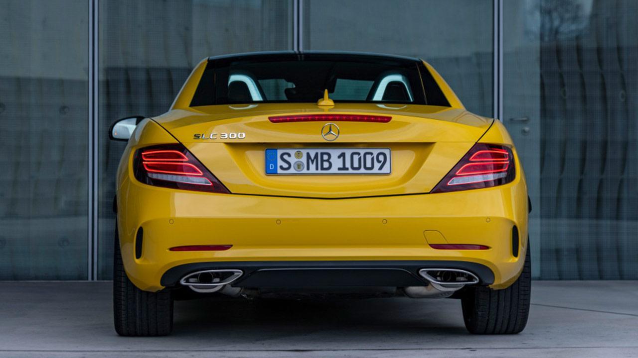 Mercedes SLC Final Edition - Heckansicht