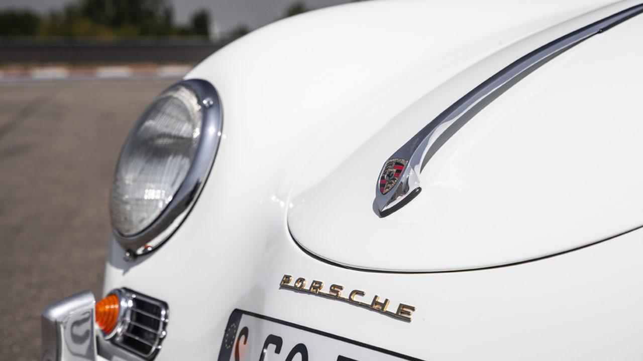 Porsche 356 B - Motorhaube