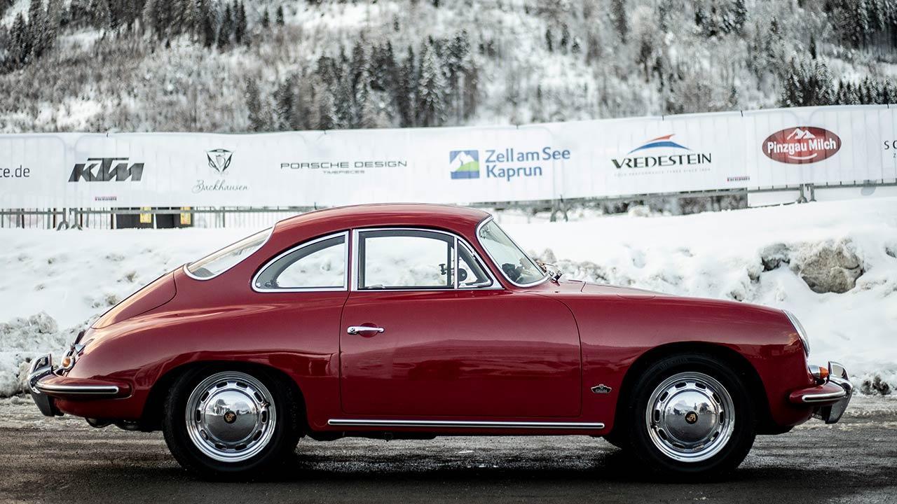 Porsche 356 B - Seitenansicht