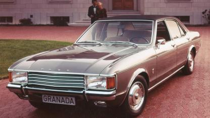 Ford Granada - am Parkplatz