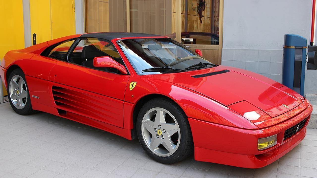 Ferrari 348 GTB - Seitenansicht