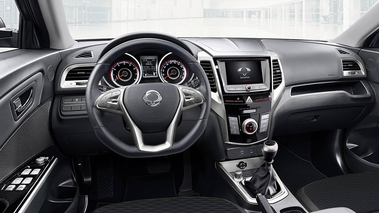 SsangYong Tivoli - Cockpit