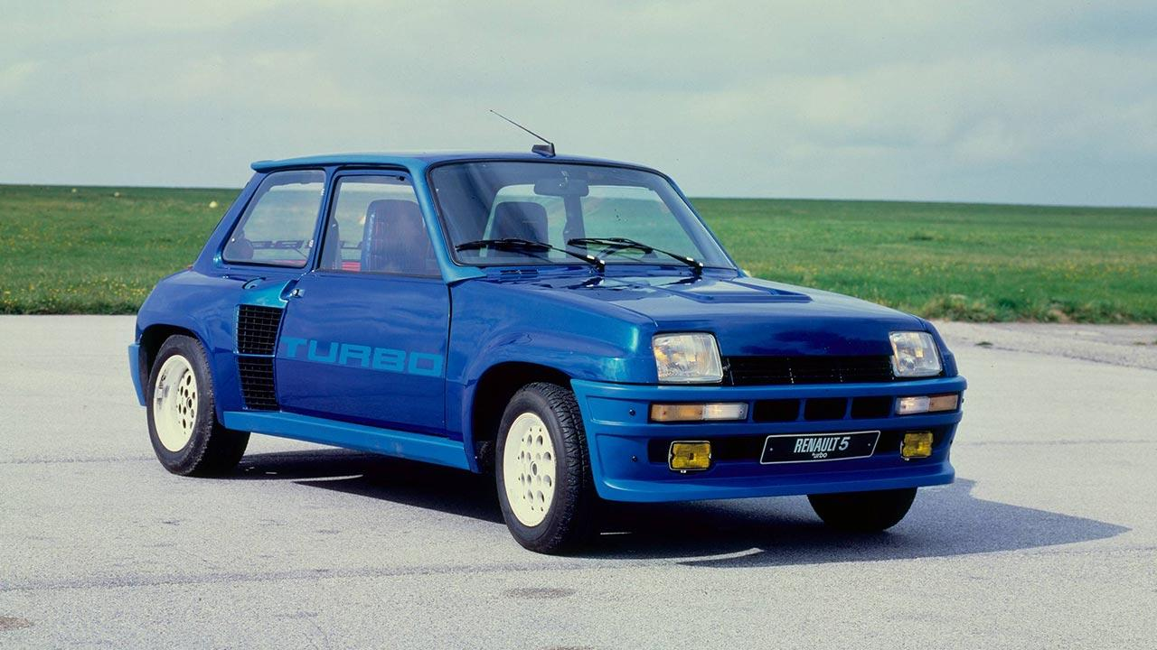 Renault 5 Turbo - in blau
