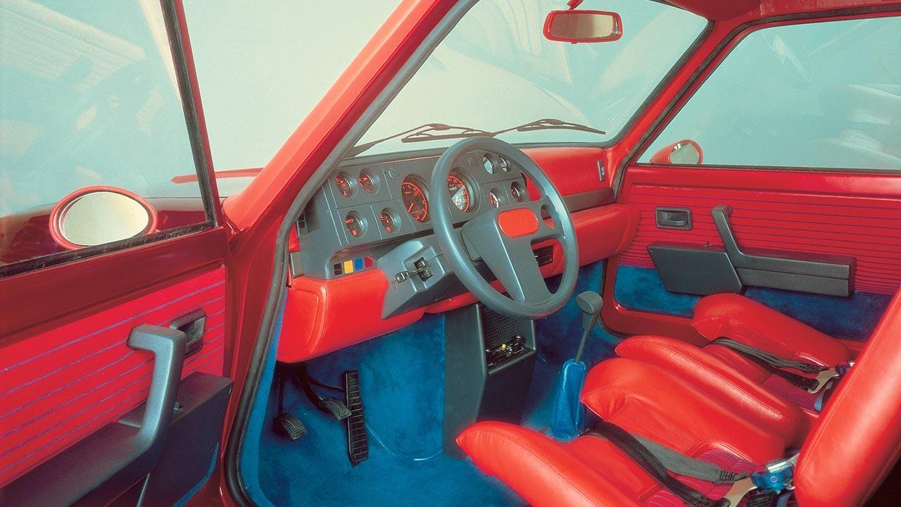Renault 5 Turbo - Cockpit