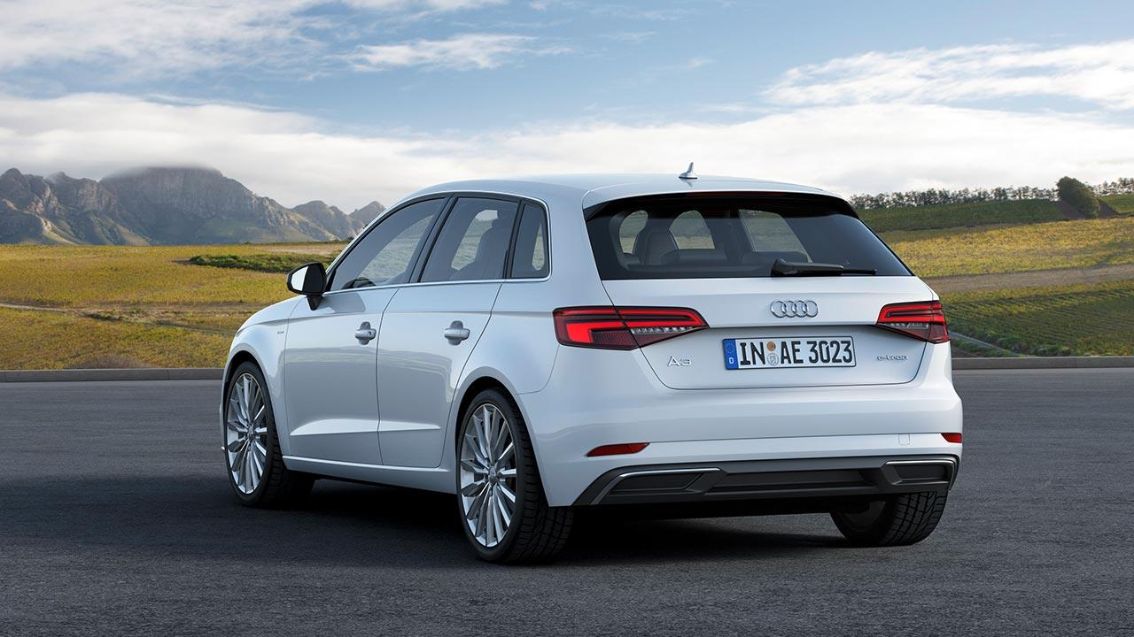Audi A3 Sportback e-tron - Heckansicht