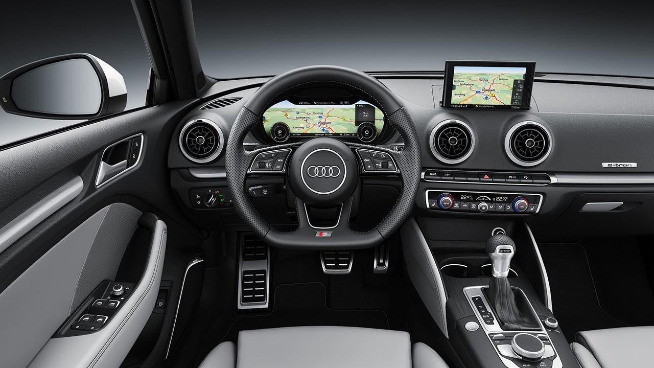 Audi A3 Sportback e-tron - Cockpit