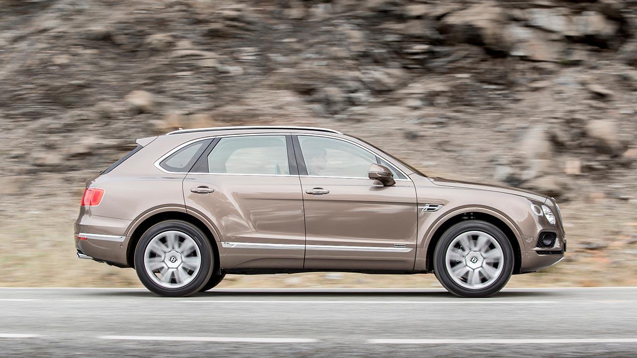 Bentley Bentayga Diesel - Seitenansicht