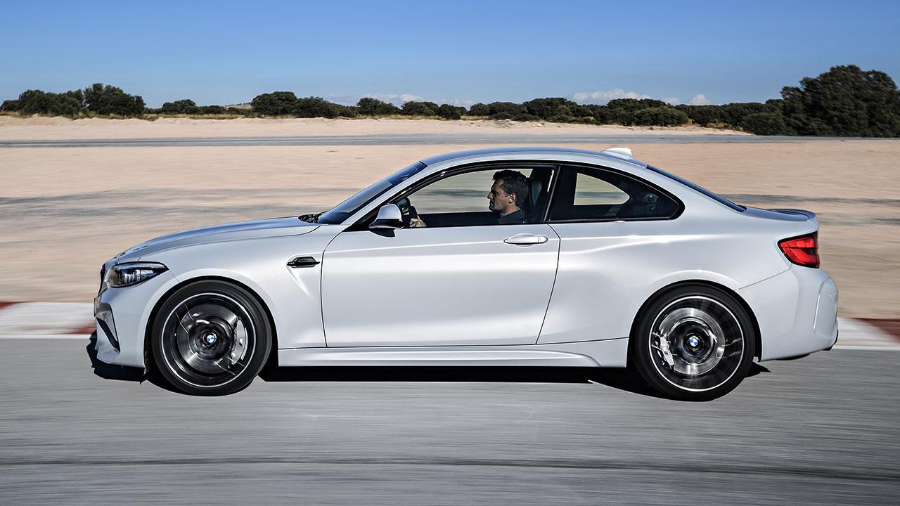 BMW M2 Competition - Seitenansicht