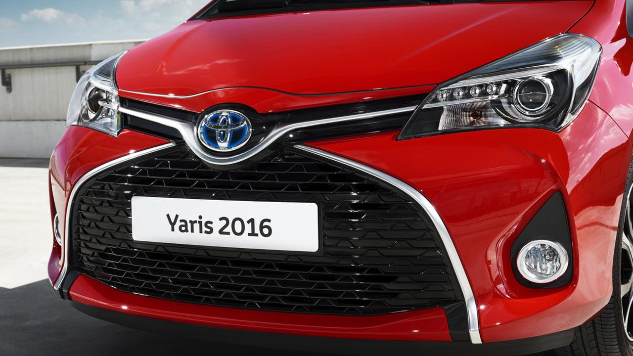 Toyota Yaris - Frontansicht