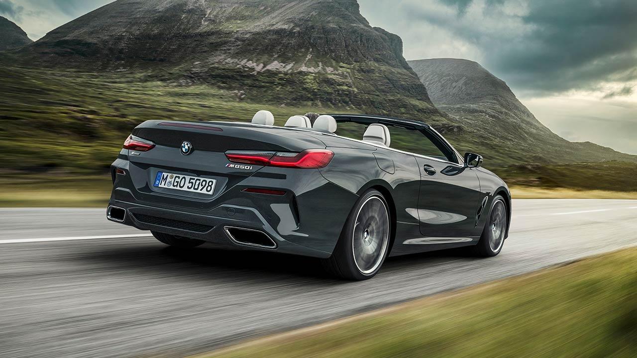 BMW 8er Cabriolet - Heckansicht