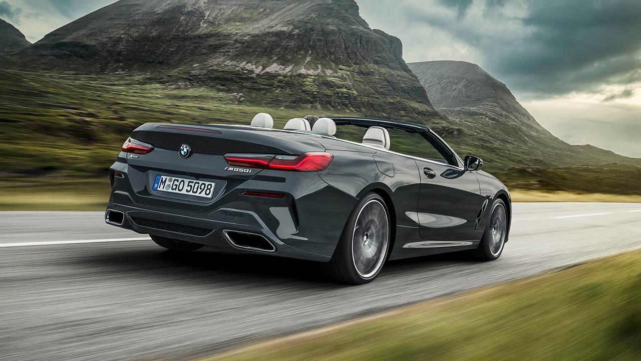BMW M850i xDrive Cabriolet - Heckansicht