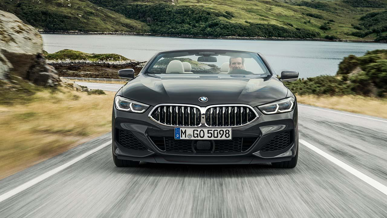 BMW M850i xDrive Cabriolet - Frontansicht