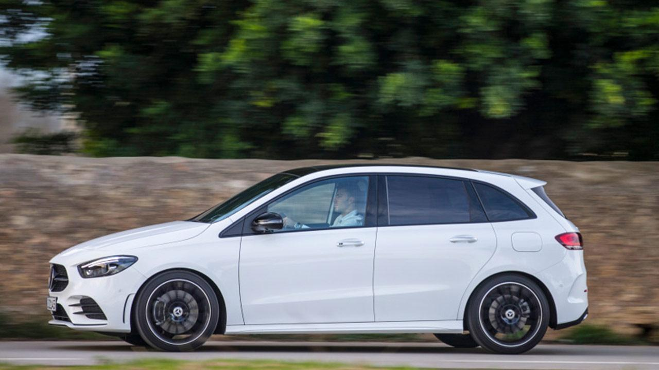 Mercedes-Benz B-Klasse - Seitenansicht